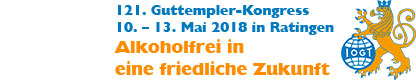 121. Guttempler-Kongress vom 10. bis 13. Mai 2018 in Ratingen
